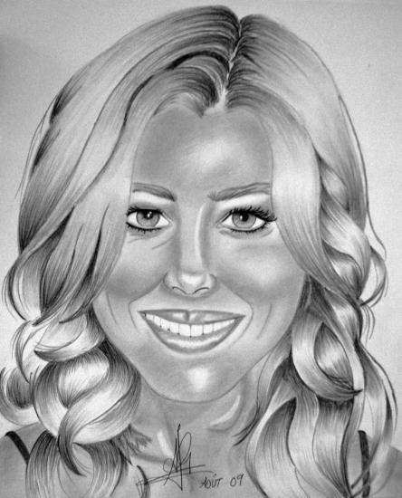 Jessica Biel by audrey
